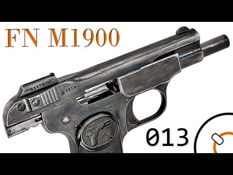 Small Arms of WWI Primer 013: Belgian FN Model 1900 Pistol