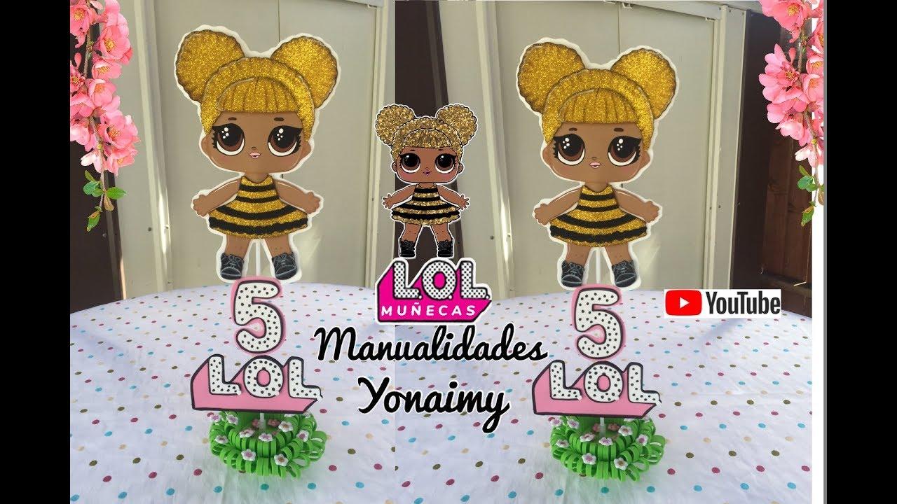 Centro De Mesa De Muñecas Lol Queen Bee Youtube