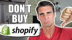 You DON'T Need SHOPIFY! (WATCH BEFORE BUYING!)