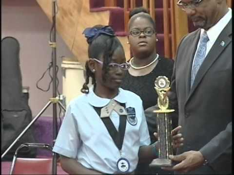 Bahamas Primary School Student of the Year - 2014 Awards Ceremony - Part 1