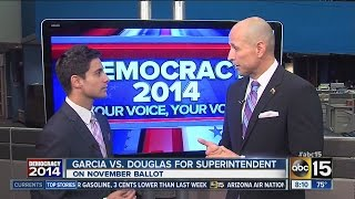David Garcia running for Superintendent of Public Education