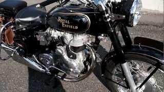 ロイヤルエンフィールド Royal enfield bullet fish tail sound