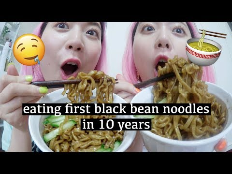 Eating first black