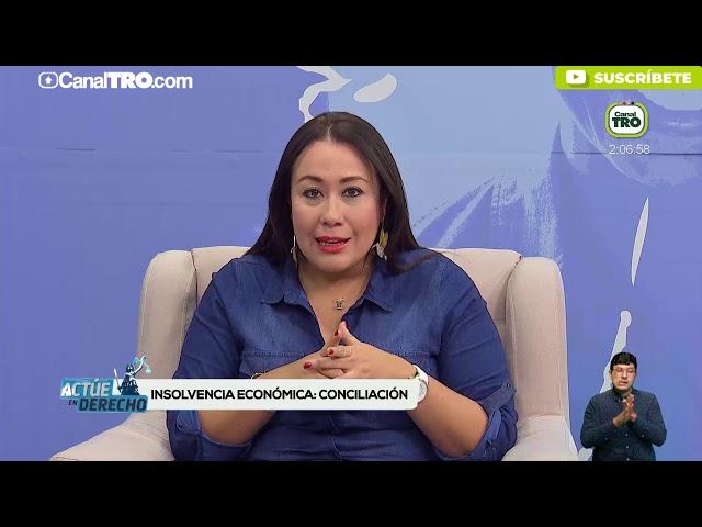 Insolvencia económica conciliación - Actúe en Derecho