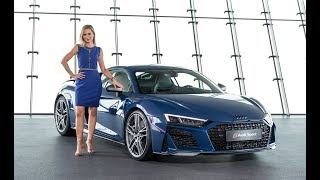 2019 AUDI R8 FACELIFT - FIRST OFFICIAL FOOTAGE