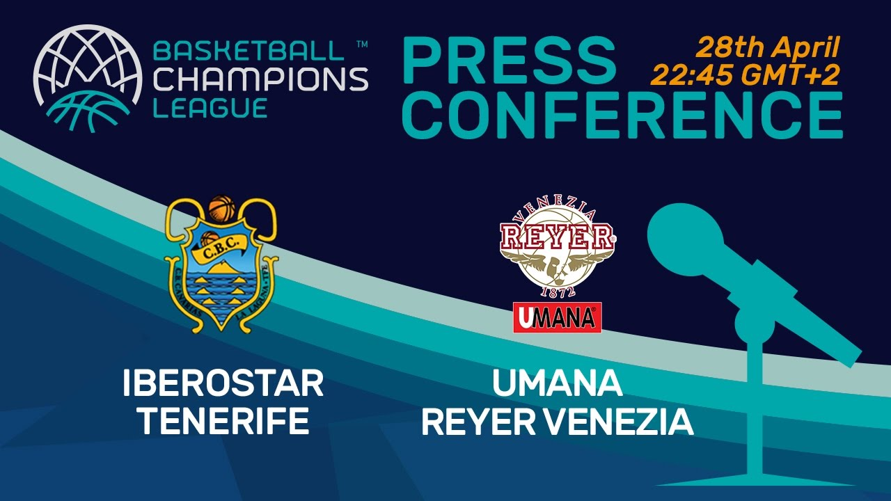 Iberostar Tenerife v Umana Reyer Venezia - Semi-Final - Press Conference