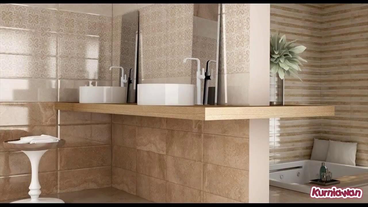 Gloss Tiles On Bathroom Floor Youtube