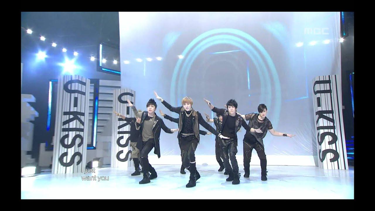 Download U-Kiss - Bingeul Bingeul, 유키스 - 빙글빙글, Music Core 20100227