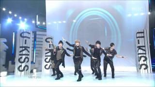 U-Kiss - Bingeul Bingeul, 유키스 - 빙글빙글, Music Core 20100227