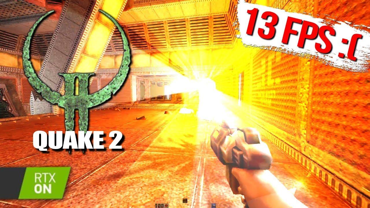 Лучи добавили в Quake2! И они лагают даже на RTX 2080ti...