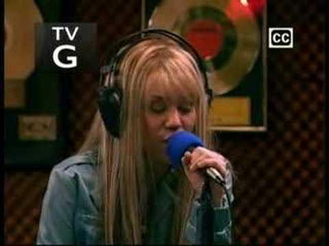 Hannah Montana's new song Bigger than us