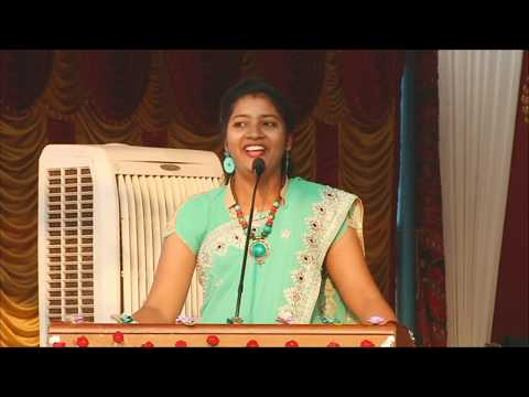Anna Bharathi Sun TV Anchor speech at Salem College