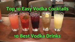 Top 10 Vodka Cocktails Easy Vodka Drinks Best Vodka Cocktail