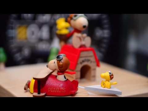 DIY Wooderful Life Flying Ace Snoopy