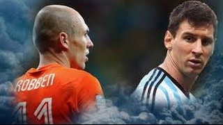 Tournament Players● Arjen Robben Vs Lionel Messi ● Top 10 Goals Battle