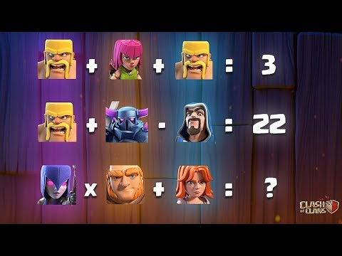 TRY TO SOLVE THIS!! | Clash Of Clans | TROOP CALCULATION CHALLENGE!!