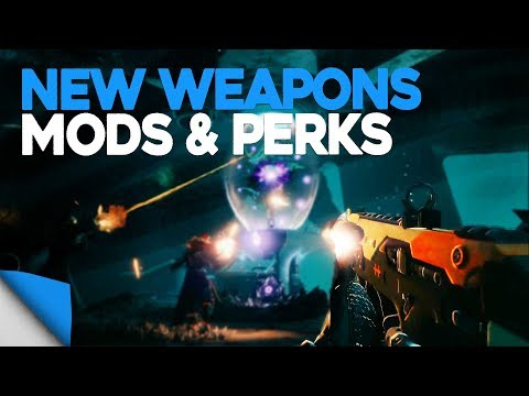 Destiny 2 | Kinetic/Energy Weapons, Mods & Perks • Everything You Need to Know!