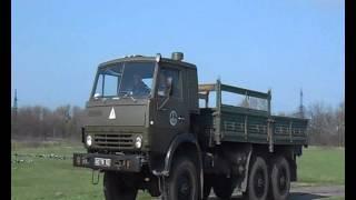 Урок виробничого навчання з водіння автомобіля КАМАЗ 4310