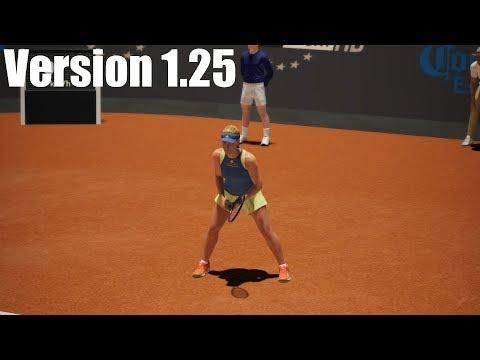Angelique Kerber vs Caroline Garcia - AO International Tennis PS4 Gameplay