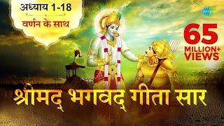श्रीमद भगवद गीता सार | संपूर्ण गीता | Bhagawad Geeta- All Chapters With Narration| Shailendra Bharti
