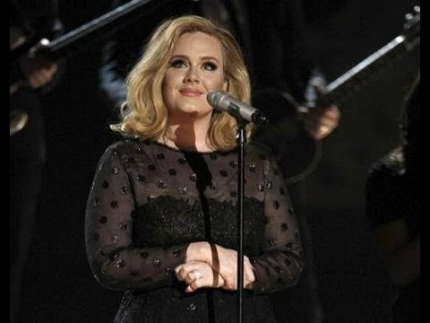 Adele - Rolling in the Deep (Grammys 2012)