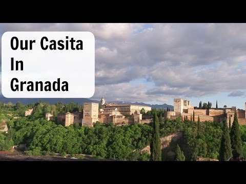 OUR CASITA IN GRANADA SPAIN/ALBAICIN WALKING