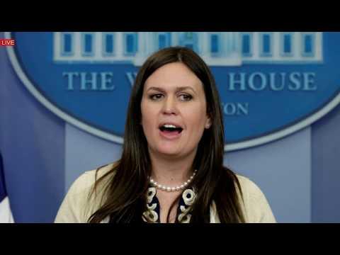 Sarah Sanders Press Briefing, Press Conference, Donald Trump Secretary 7/20/17 Sean Spicer