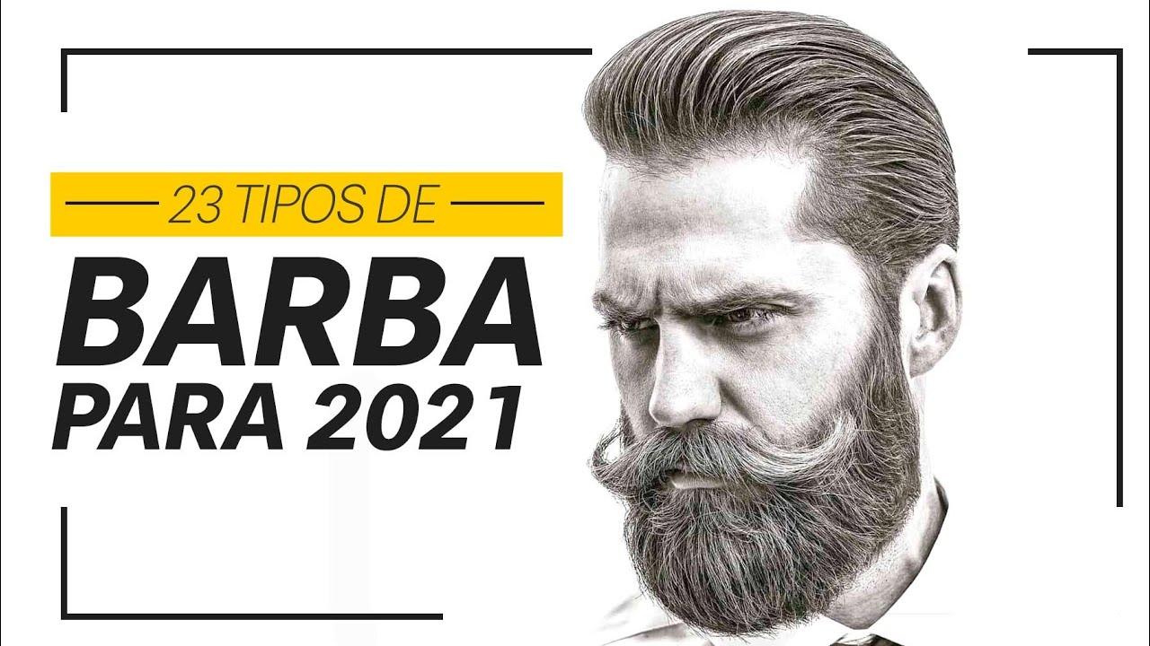 23 estilos de BARBAS PARA 2021 | Estilos em alta (com Barba Ruiva)