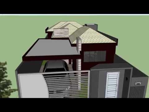casa pequena moderna 7x20 doovi