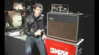jim ward of sparta with vox ac30 custom classic