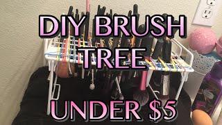 Diy Brush Tree - Under $5!!!