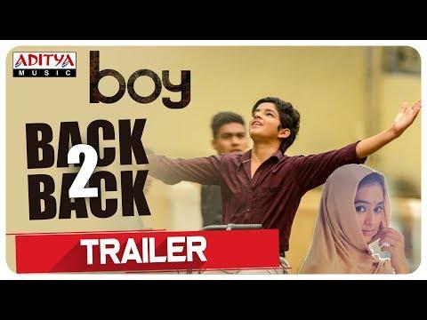 Boy Telugu Movie Back To Back Trailers | Lakshya Sinha, Sahiti | Amar Viswaraj