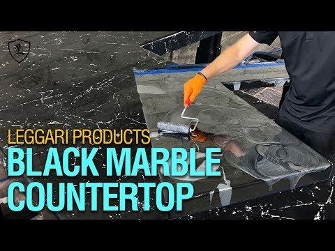 DIY Black Marble Countertop | Kit 9