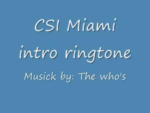 Download csi miami theme song   instrumentalfx.