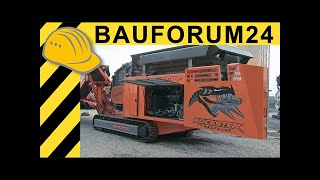 Rockster R1100DS Prallbrecher Impact Crusher Walkaround & Interview Steinexpo Bauforum24