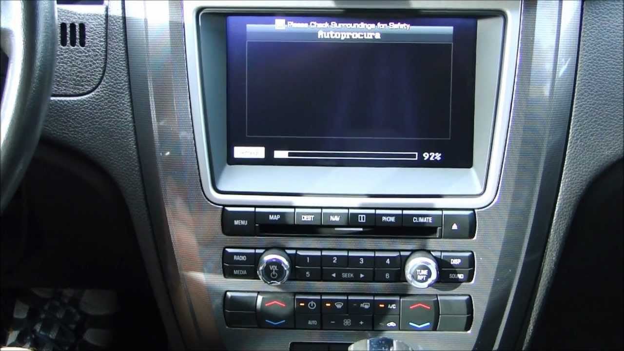 Ford Edge 2008 >> Faaftech - Interface de desbloqueio de tela para Ford Fusion e Edge - YouTube