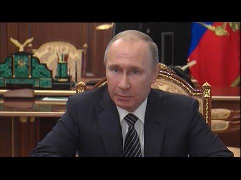 Putin: Russia won't expel US diplomats