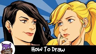 ✐ How To Draw - Riverdale [Smash or Pass] ✐