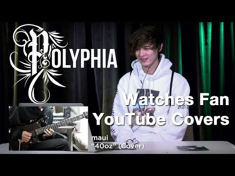 POLYPHIA Guitarist Watches Fan YouTube Covers | MetalSucks