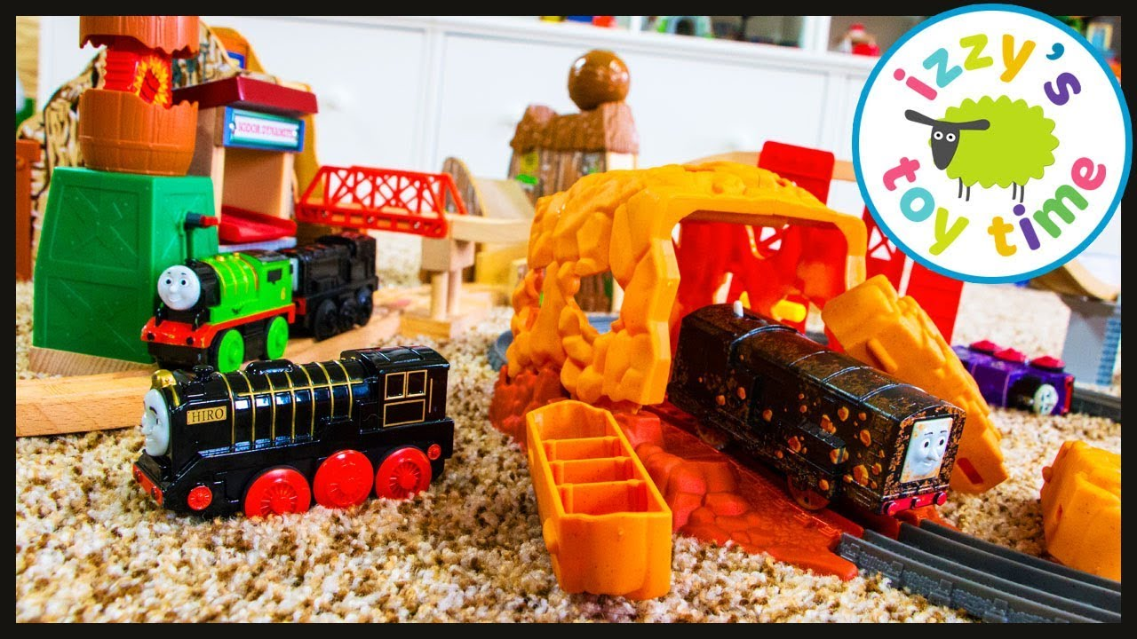 58c0956bf8d Thomas and Friends Trackmaster Tunnel Blast! Fun Toy Trains for Kids ...