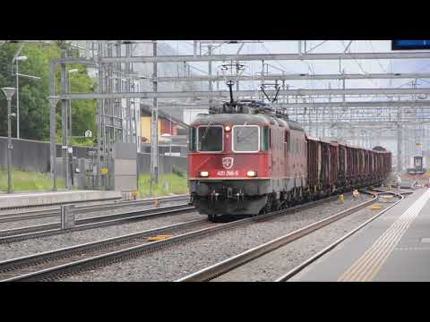 Swiss Cargo Trains 2017
