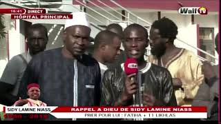 Urgent! La Levée Du Corps De Sidy Lamine Niass Reportée  La Déclaration De son fils Cheikh Niass