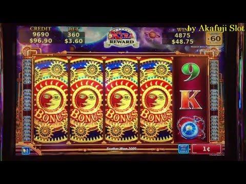 Golden Eagle Slot machine max bet $5 IGT and Konami First Attempt San Manuel Casino