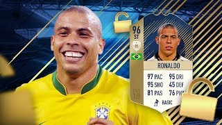 I GOT PRIME 96 RONALDO! FIFA 18 PRIME ICON RONALDO 96 PLAYER REVIEW / ULTIMATE TEAM