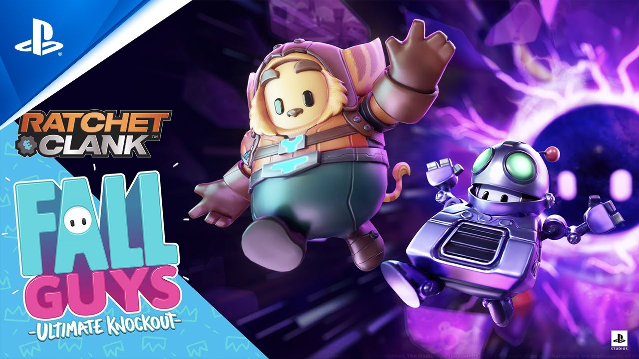 Fall Guys: Ultimate Knockout - Ratchet and Clank Limited Time Events Reveal Trailer | PS4