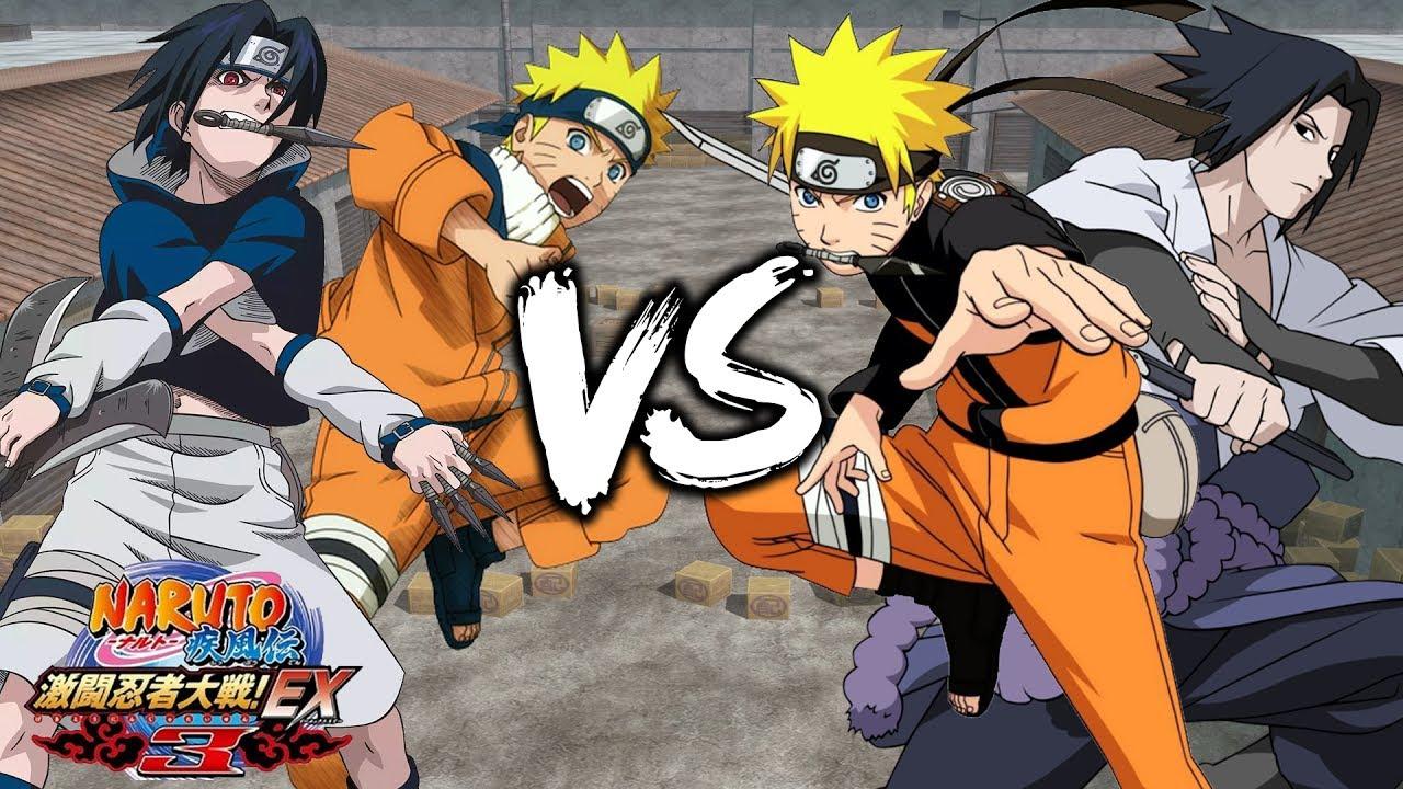 Ultimate Naruto & Sasuke Battle - Naruto Shippuden Gekitou ...