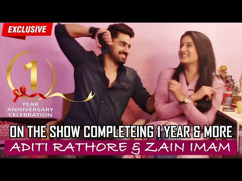 Zain Imam & Aditi Rathore | 1 Year Celebration Interview | Naamkaran thumbnail