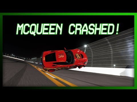 Forza Motorsport 6 - Cars 3 Recreation (Mcqueen Crashed!)