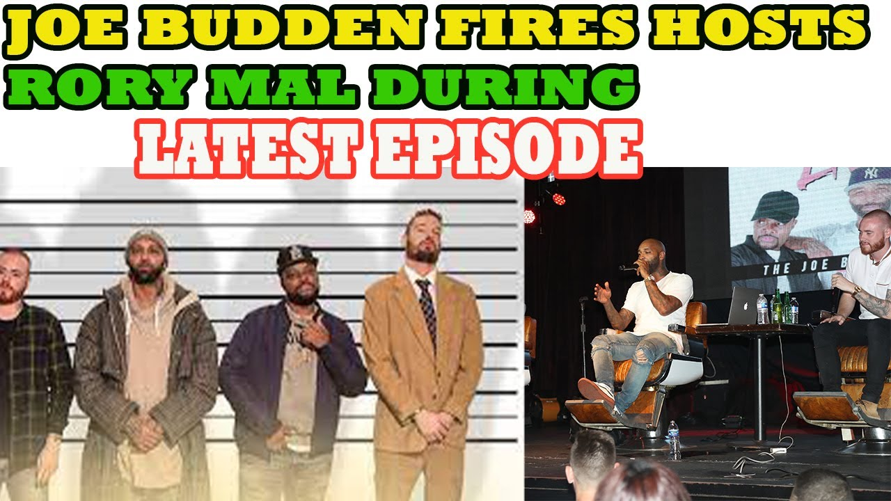Joe Budden Fires Podcast Co-Hosts Rory Farrell and Jamil 'Mal' Clay