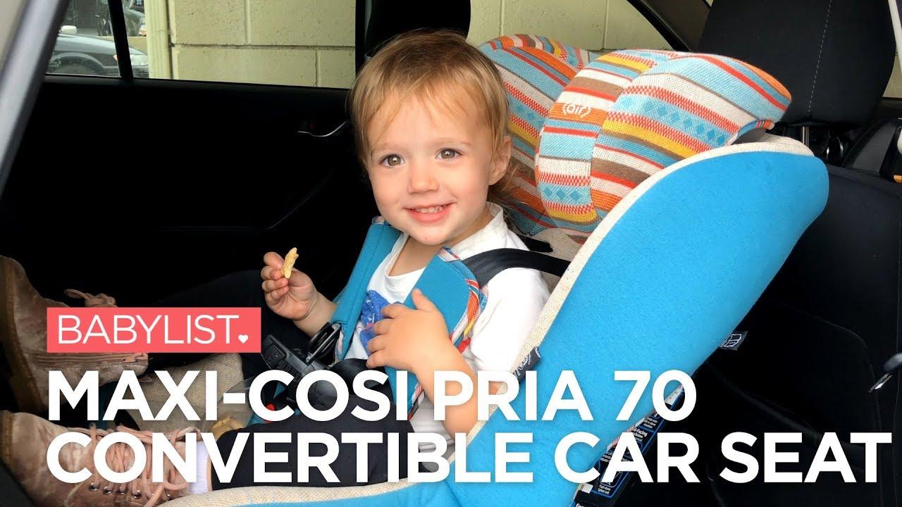 6fee9b29c Maxi-Cosi Pria 70 Convertible Car Seat Review - YouTube